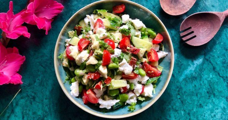 Buffelmozzarella salade