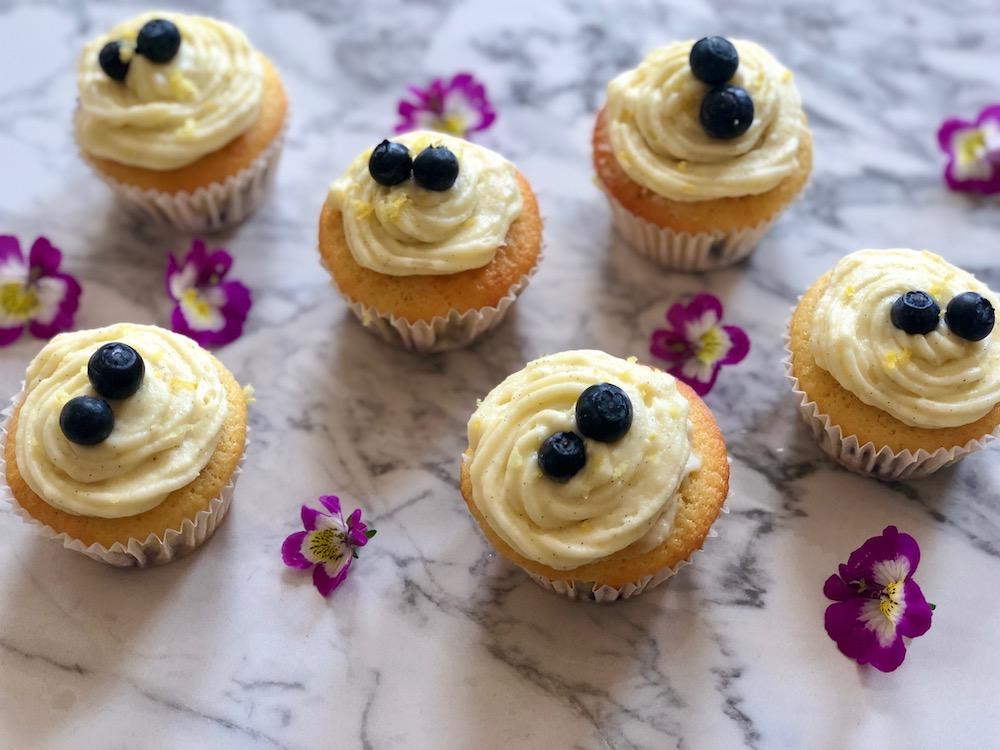 Bosbessen Citroen Muffins